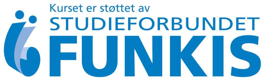 Tekst kurset er støttet av Studieforbundet Funkis.