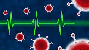 Symbolet på koronavirus.