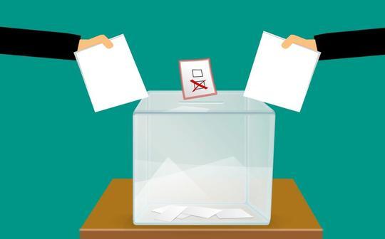 Tegning av stemmeurne
